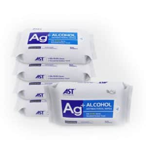 AG +Alcohol Antibacterial Wipes