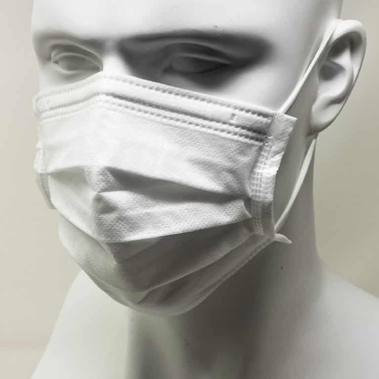 [Mask] Bright White Masks 4-Ply - Individually Wrapped -BioPacking 9