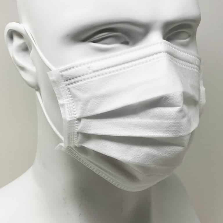 [Mask] Bright White Masks 4-Ply - Individually Wrapped -BioPacking 11
