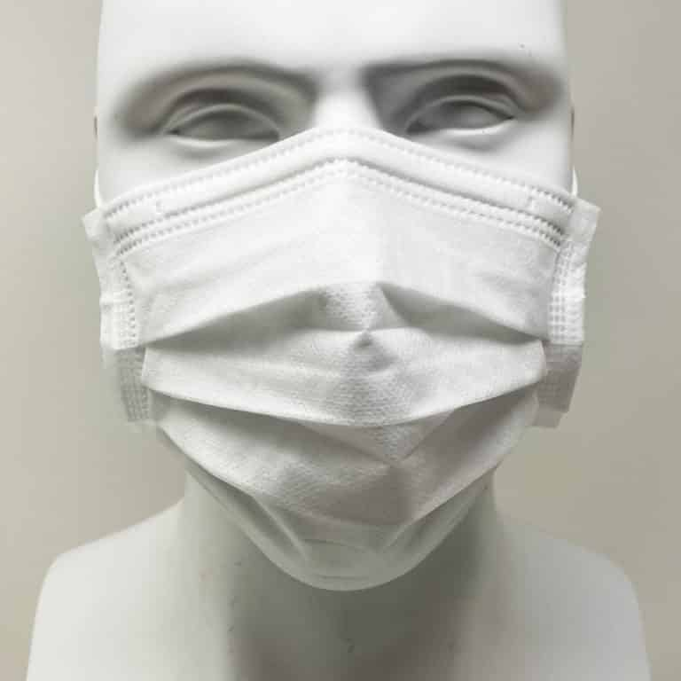 [Mask] Bright White Masks 4-Ply - Individually Wrapped -BioPacking 10